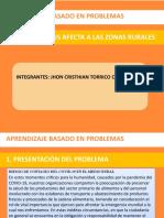 Analisis de problemas - CORONAVIRUS AFECTA A ZONAS RURALES