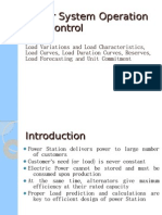 Power System Operation and Control