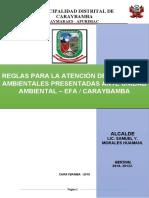REGLAMENTO  ATENCIÓN DE DENUNCIAS AMBIENTALES 2019