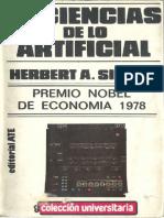 Herbert Simon_Las Ciencias de Lo Artificial