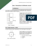 Full Adder Using Multiplexer