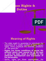 POlitical Science-Chap 05- Human Rights & Duties