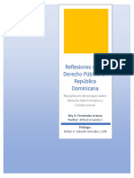 Reflexiones Sobre Derecho Publico en Rep Dom - Rey FERNANDEZ LIRANZO