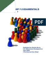 Leadership Fundamentals, Volume 2