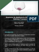 Síndrome de Abstinencia Alcohólica y Delirium Tremens Dra. Lidia Lara 13-03-2018.pdf