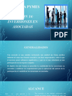 SECCION 14 INVERSIONES ASOCIADAS NIIF PARA PYMES.pptx