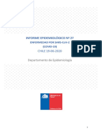 27° informe epidemiológico COVID-19