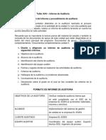 Actividad 4 – Ev3 Taller informe de auditoría - AA4