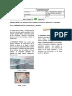 6º-GUIA FENOMENENOS FISICOS Y QUIMICOS DE LA MATERIA