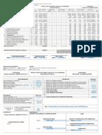 Planilla y Certificado de Pago No1