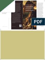 Montaje de la cubierta del libro Catastrofismo