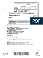 01a 4MB1 Paper 1 - January 2019