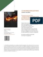 Ficha comercial del libro La insurrección que viene