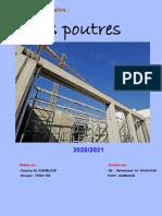 POTEAUX & POUTRES - Génie Civil