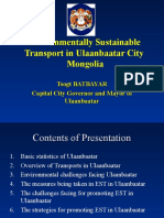 Sustainable Enviroment in Mongolia
