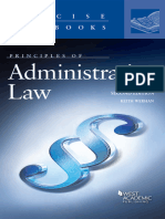 (Concise Hornbook Series) Keith Werhan - Principles of Administrative Law-West Academic Publishing (2014).epub
