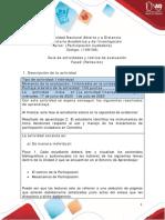 Guia de actividades y Rúbrica de evaluación - Unidad 2 - fase  2 - Reflexión (1)
