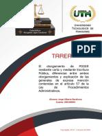 Derecho Administrativo Formas de Otorgamienro de Poder