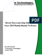 27319235 Seven Key Learning Indicators Your CEO Really Needs to Know