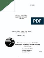 Apollo 11 Lunar Sample Information Catalogue