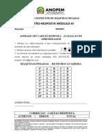 CARTÃO RESPOSTA_VA Retroescavadeira