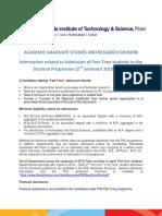 PhDPartTimeAdmissionDetails