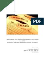 IT Deductions