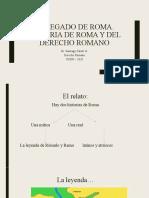 El legado de Roma 1