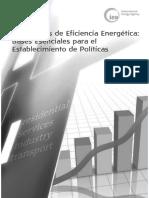 Indicadores de Eficiencia Energética