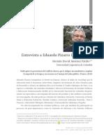 Entrevista a Eduardo Pizarro Leongómez