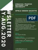 BROCHURE HPNLU GREEN GAZETTE-converted