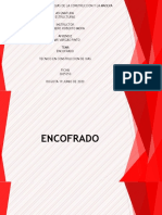 TRABAJO DE ENCOFRADO