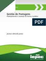 Multidisciplinar. Gestão de Pastagens. Planejamento e manejo da teoria à prática. Josmar Almeida Junior (2)