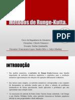 TRABALHO CA - Métodos de Runge-Kutta - SANDRA