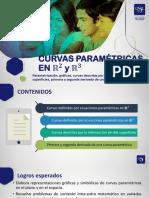 S9 CURVAS PARAMÉTRICAS EN R2 y R3