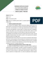 Análisis de la jubilación patronal vigente y la propuesta gubernamental que reforma el Código Laboral