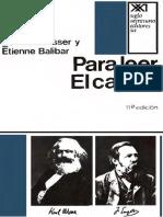 Althusser Louis Y Balibar Etienne - Para Leer El Capital