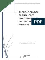 TECNOLOGIA DEL FRANQUEO Y MANTENIMIENTO DE LABORES MINERAS.pdf