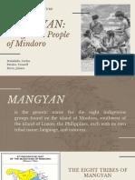 Report - Mangyan.pdf