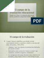 El campo de la evaluación educacional 2