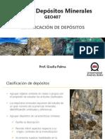 Clase 11 Clasificación de depósitos