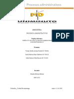 Análisis de caso sobre la estructura organizacional