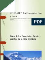 Eucaristia fuente y cumbre-Vida eucarística