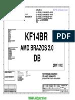 HP 2000 Inventec 6050A2498701-MB-A02 AMD Schematics