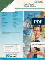 HP Calculators 1988 - HP28S