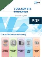 GUL_PER_ZTE GUL SDR BTS Introduction