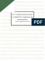 UD 7 Base química de la herencia