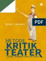 Metode Kritik Teater