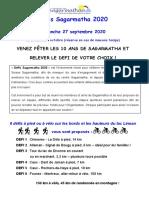 Défis Sagarmatha 2020_Infos et inscription
