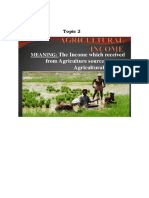 topic 2 Agriculture income.docx